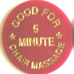 chair massage token