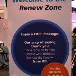 chair massage sign