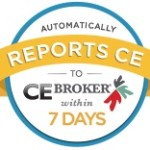 CE Broker Approved Provider for Massage Reporting Logo